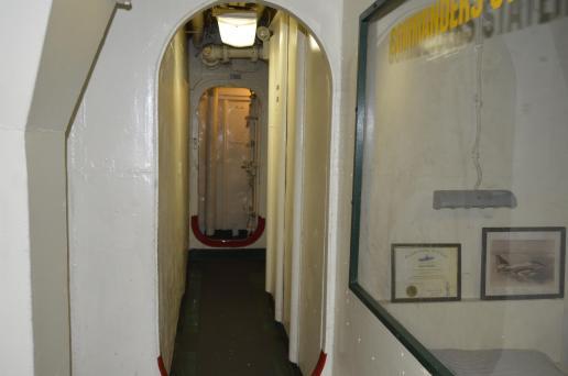 Figure of Apparition in a Doorway in USS Lexington - Corpus Christie, Texas