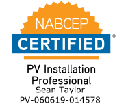NABCEP Certified - PV Installation Professional