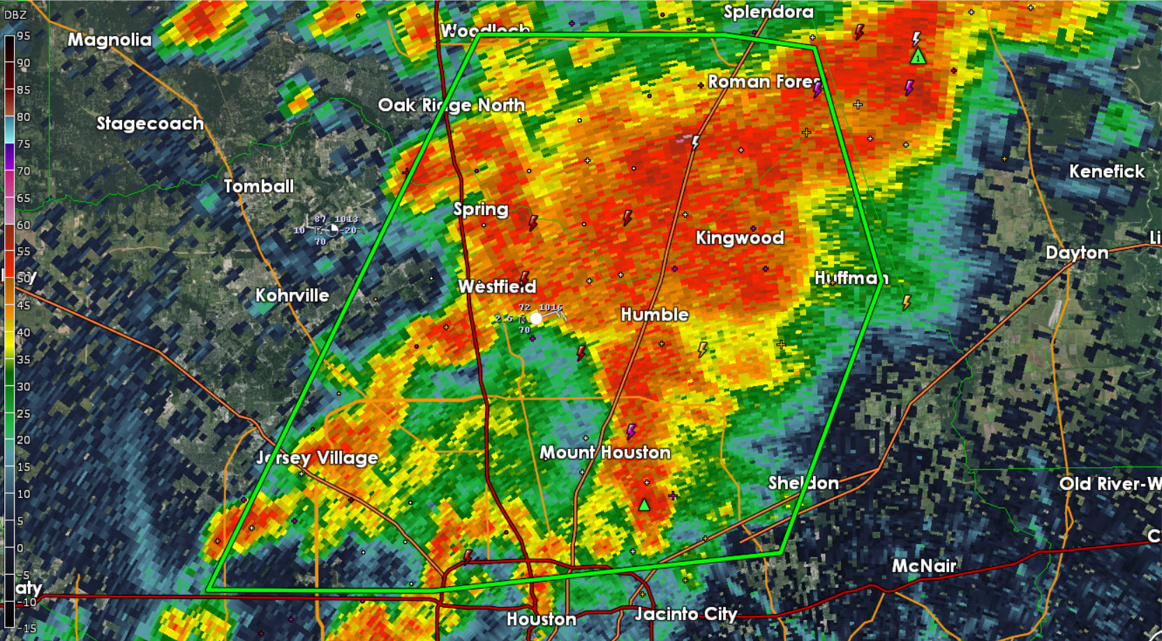 Flash Flood Warning: Harris, Montgomery Counties until 6:30 PM ...