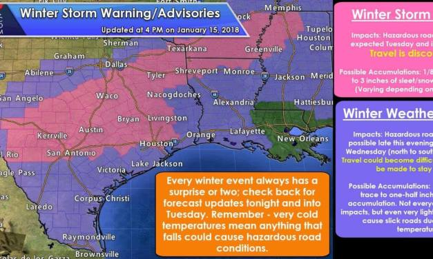 Late Afternoon Update on Tonight/Tuesday's High Impact Winter Storm