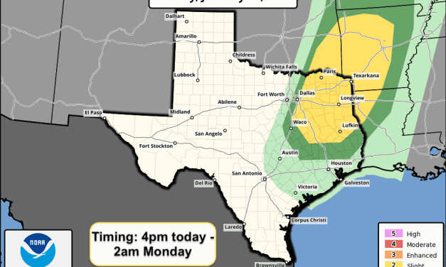 Critical Wildfire Threat West of the Dryline This Afternoon – Strong To Severe Storms East This Evening/Tonight