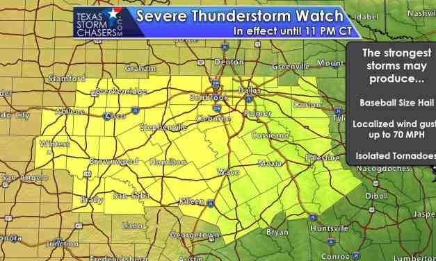 3:15 PM Severe Weather Update