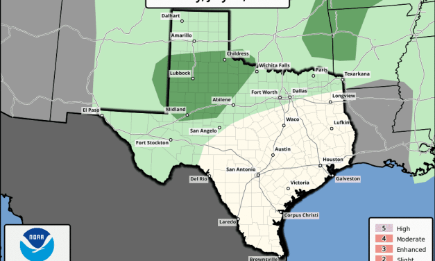 Marginal Risk of Severe Weather This Afternoon – Rain Chances for July 4th