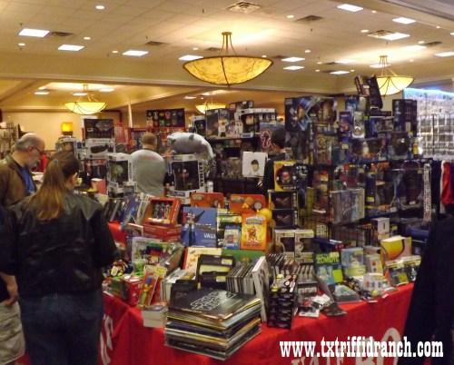 Half Price Books booth at All-Con 2014