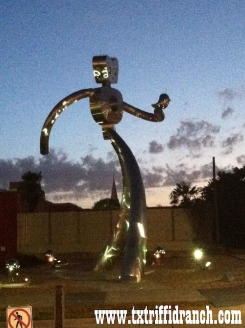 Deep Ellum robot