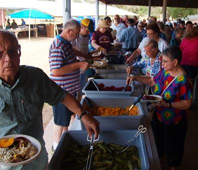 Wendish Fest Serving Line