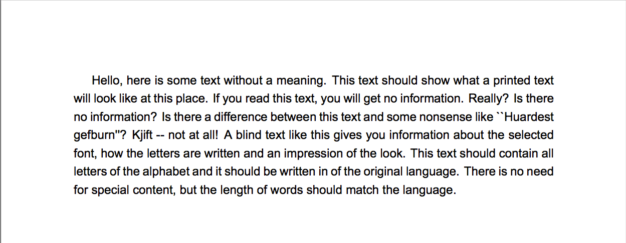 Latex page, line and font settings – texblog