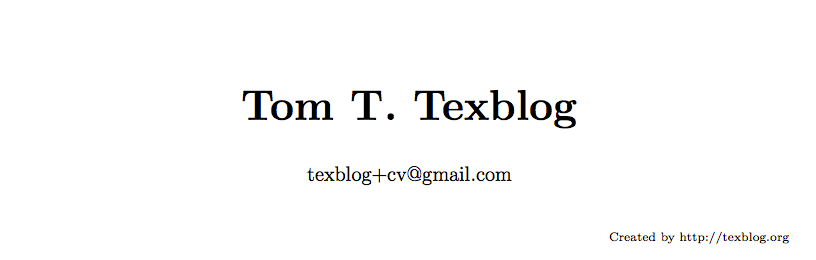 Writing a cv in latex texblog cv title1 yelopaper Image collections