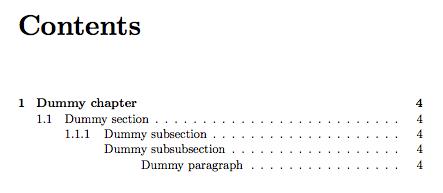 classic thesis nomenclature