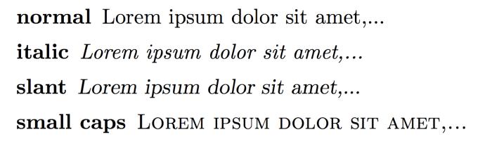 latex-shape-font