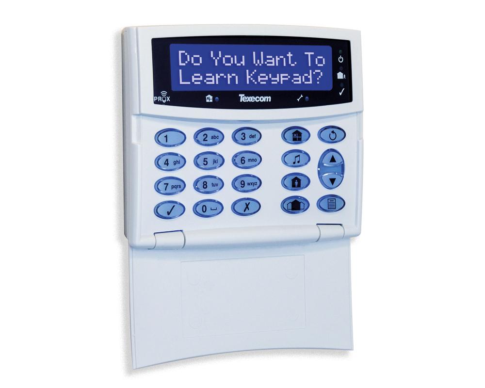 LCDLP-W Keypad