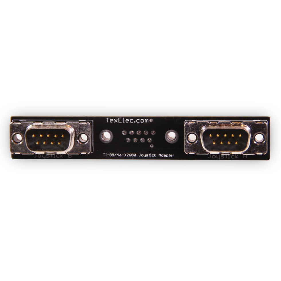 TI-99/4a to Atari 2600 Joystick Adapter