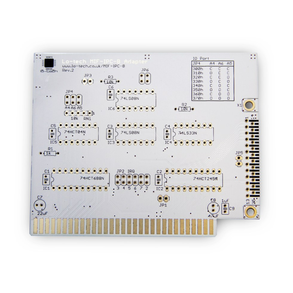 Lo-tech MIF IPC B (PCB Only)