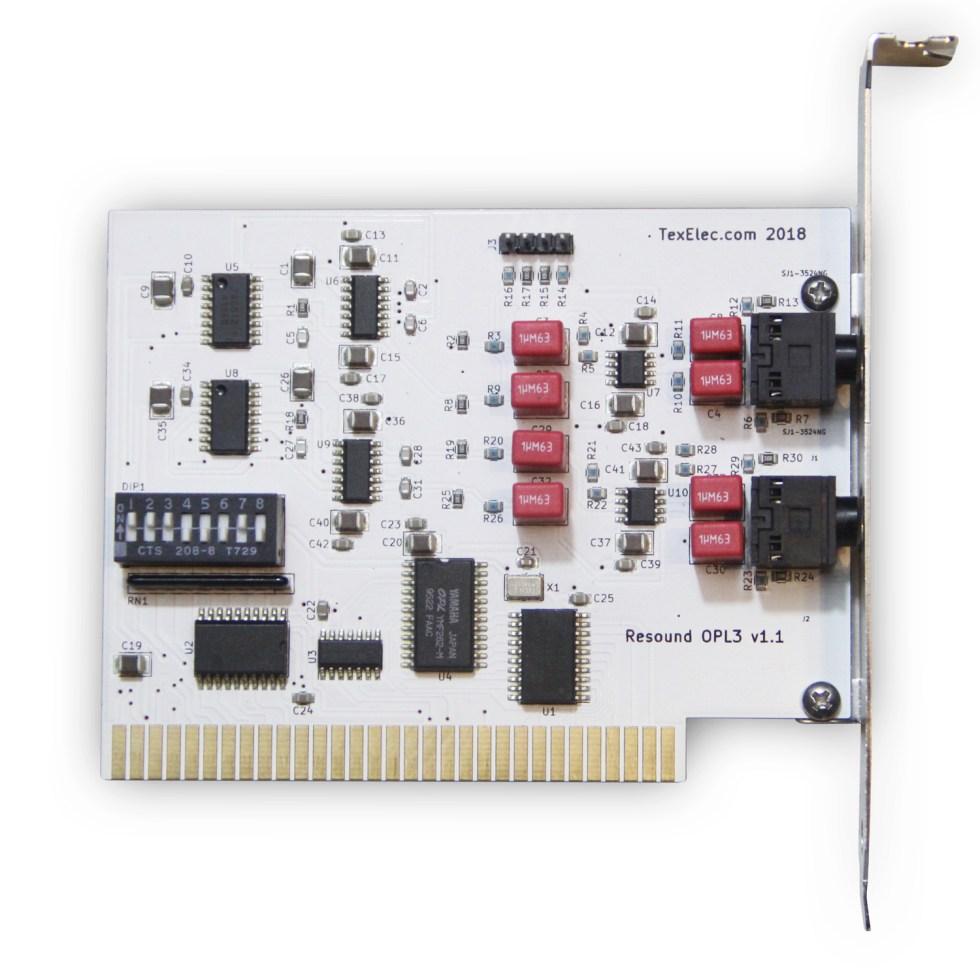 Resound OPL3 – 4 Channel Sound Card 8-Bit ISA