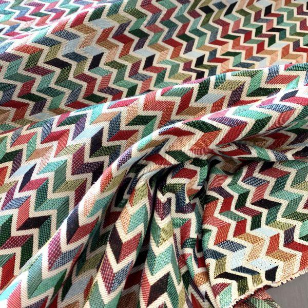 zig zag multicolor