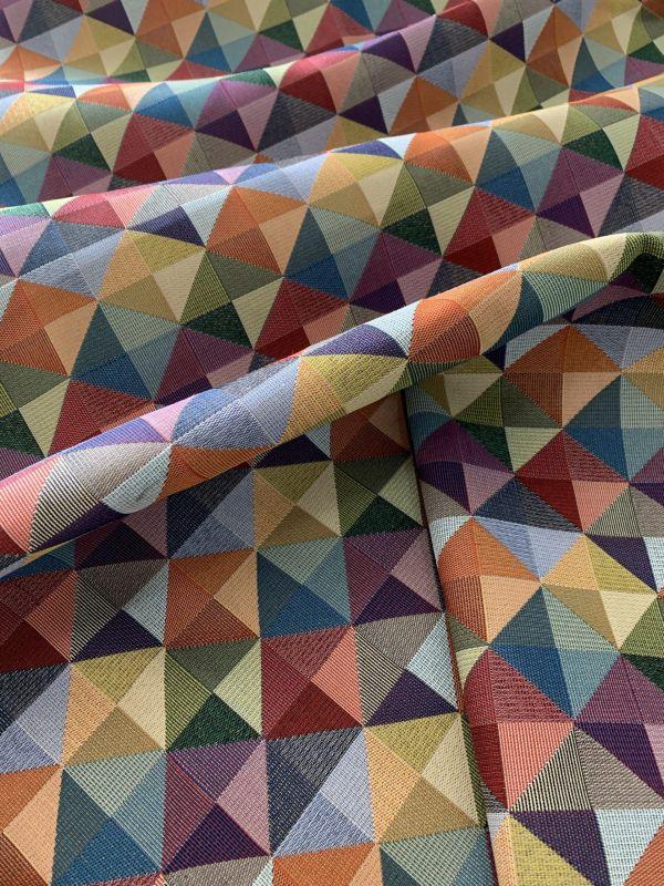 gobelino rombos multicolor Texere
