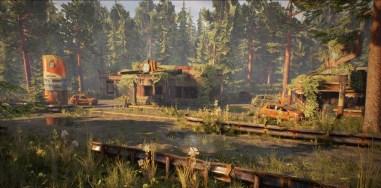 Abandoned bayou gas station