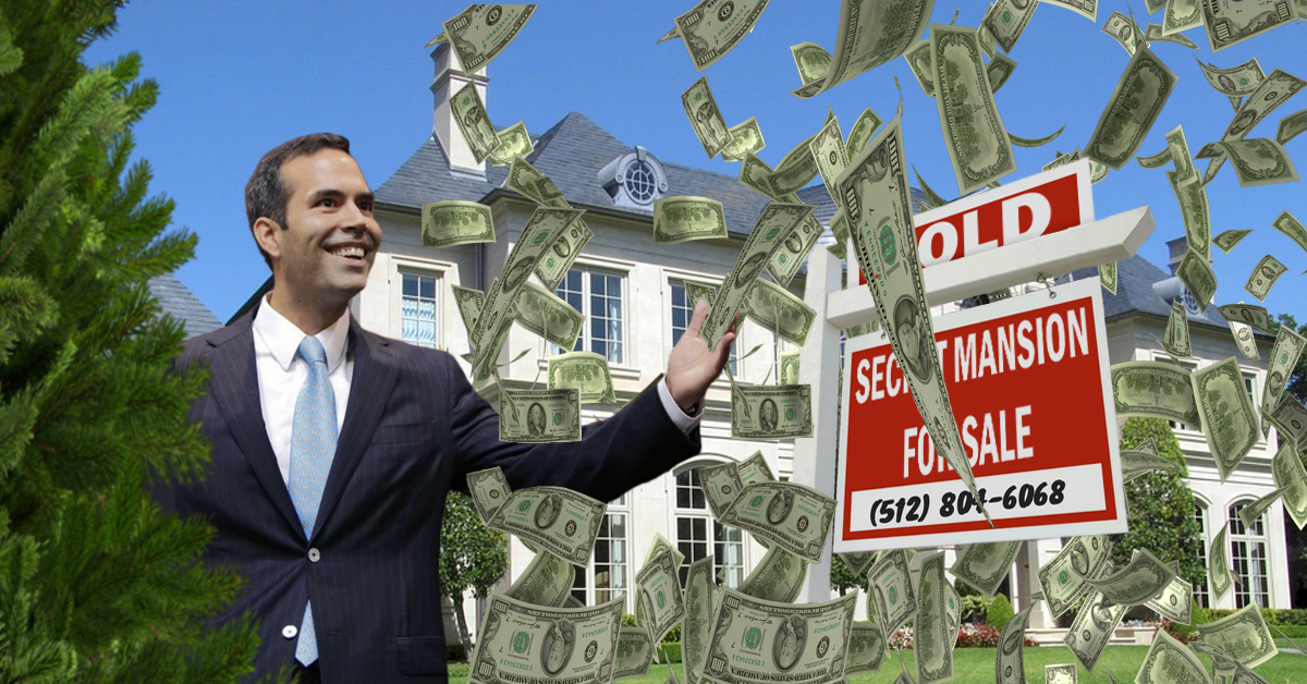 George P. Bush's Secret Undisclosed Mansion
