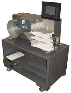 ES&S DS 450 Ballot Scanner