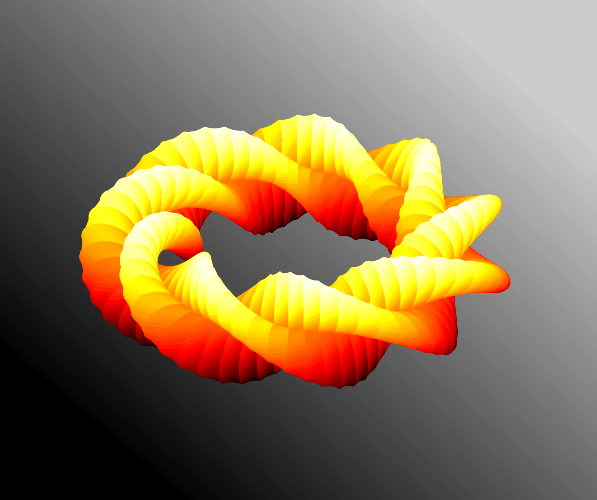 Cruller in space