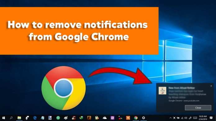 cara menghilangkan notifikasi chrome