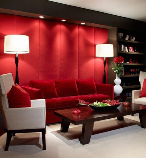Κόκκινα χρωμάτα βαφής τοίχου2