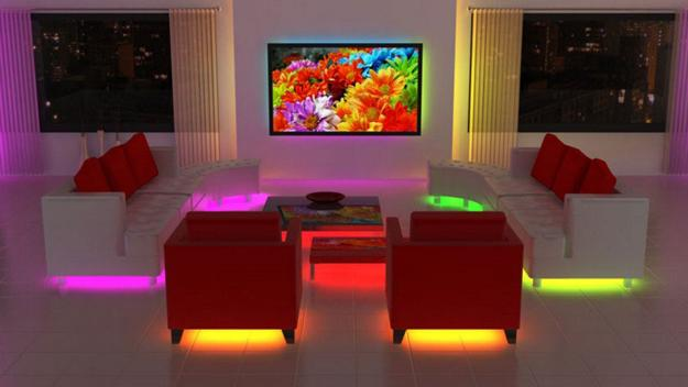 ιδέες εσωτερικής διακόσμησης για να φωτίσετε τα δωμάτια σας με LED Φωτιστικά