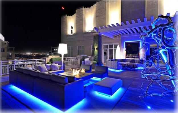 ιδέες εσωτερικής διακόσμησης για να φωτίσετε τα δωμάτια σας με LED Φωτιστικά3