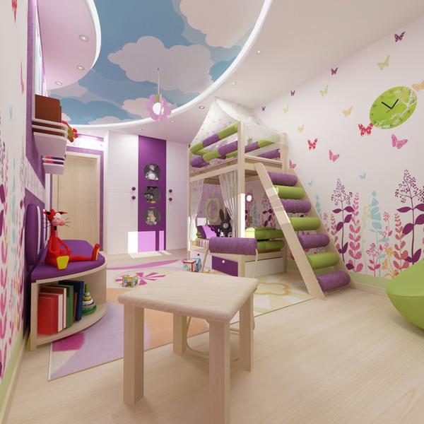 Απίθανα φωτεινά παιδικά δωμάτια3