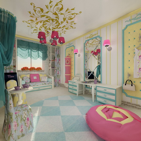 Απίθανα φωτεινά παιδικά δωμάτια6