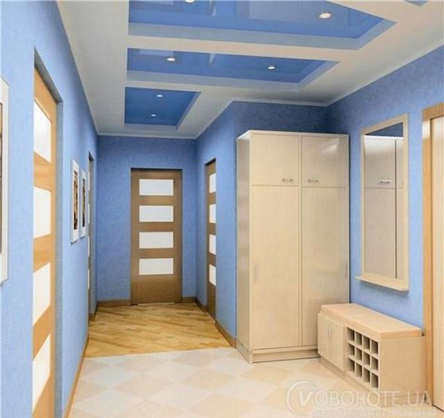 Μπλε χρώμα στην εσωτερική διακόσμηση9