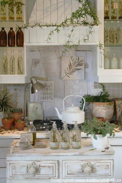 Πώς να διακοσμήσετε την κουζίνα σας με βότανα20