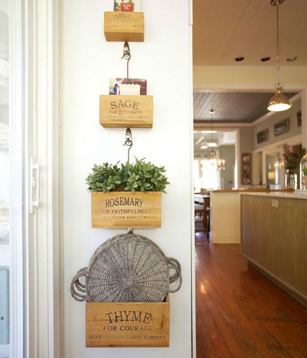 Πώς να διακοσμήσετε την κουζίνα σας με βότανα6