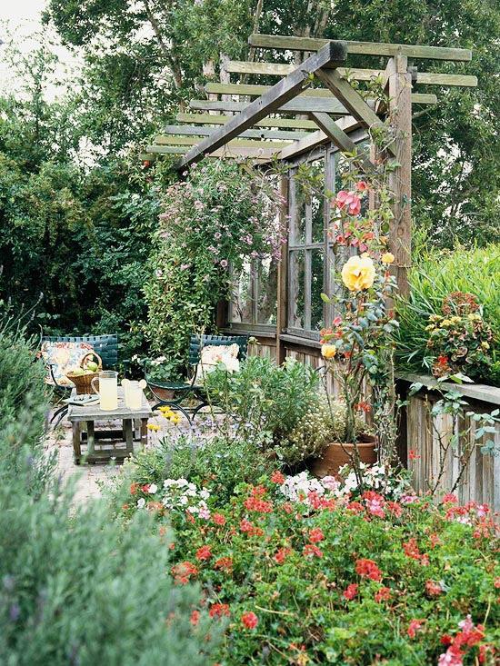 Υπέροχοι εξωερικοί χώροι για χαλάρωση14