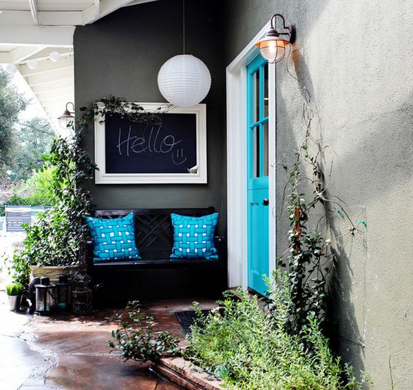 χρώμα μαυροπίνακα για διακόσμηση στο σπίτι