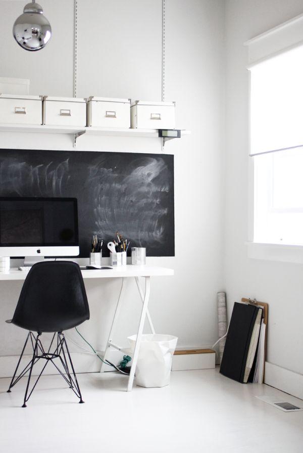 χρώμα μαυροπίνακα για διακόσμηση στο σπίτι13