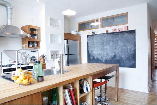 χρώμα μαυροπίνακα για διακόσμηση στο σπίτι17