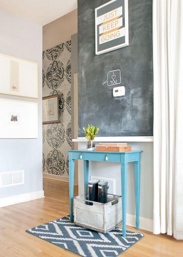 χρώμα μαυροπίνακα για διακόσμηση στο σπίτι2