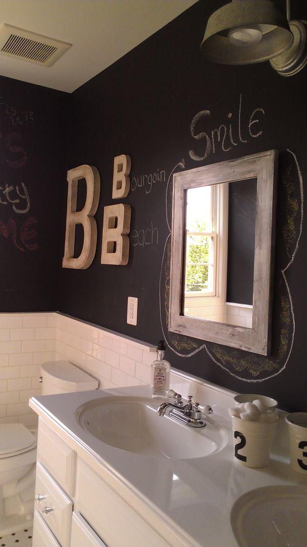 χρώμα μαυροπίνακα για διακόσμηση στο σπίτι39