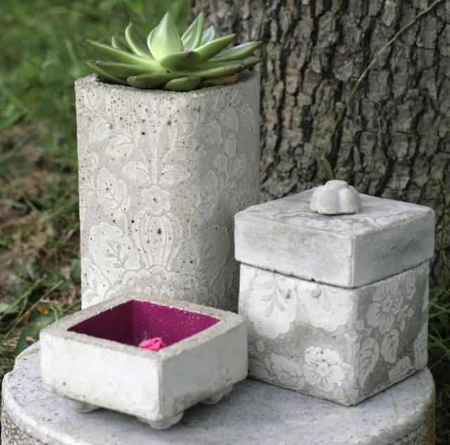 DIY έργα και δημιουργικές ιδέες από τσιμέντο23