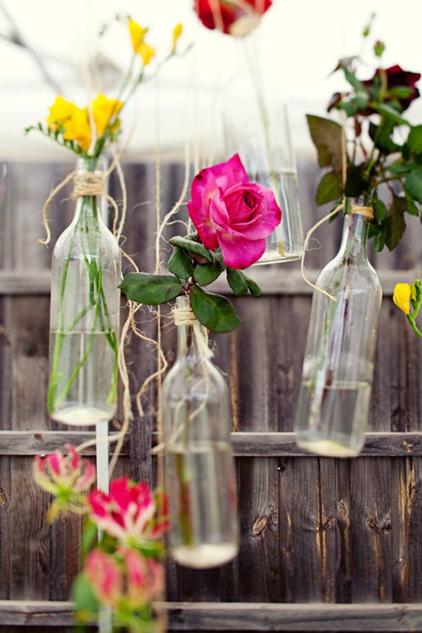 Diy Ιδέες από Μπουκάλια κρασιού17