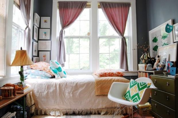 Ιδέες σχεδιασμού για Vintage Εμπνευσμένα Υπνοδωμάτια3