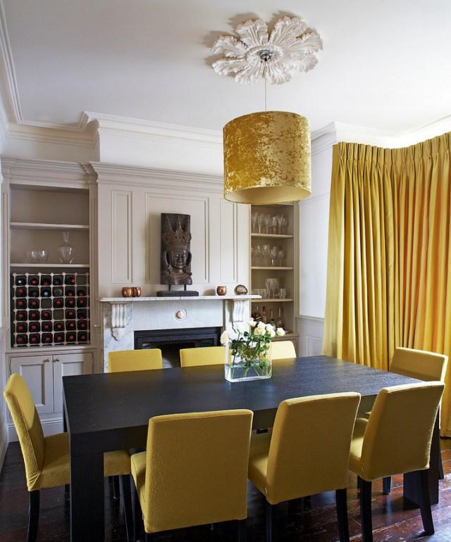 Μουσταρδί και Κίτρινες Ιδέες διακόσμησης2