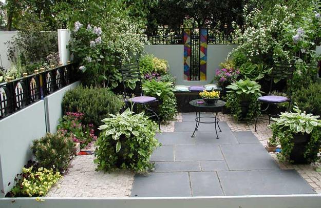 Πράσινες Ιδέες σχεδιασμού κήπου και αυλής26