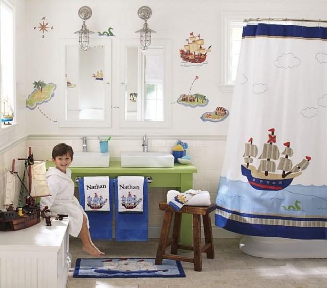 Υπέροχες Ιδέες διακόσμησης Μπάνιου για τα παιδιά σας17