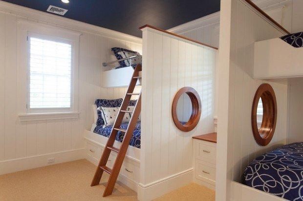 Υπνοδωμάτια για παιδιά Σχεδιασμένα σε θαλασσινό στυλ6