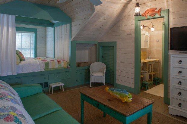Υπνοδωμάτια για παιδιά Σχεδιασμένα σε θαλασσινό στυλ9