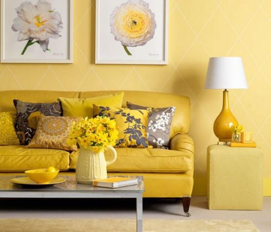 ιδέες με κίτρινο χρώμα4