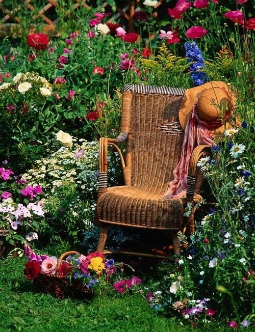 ιδέες με ψάθινες Καρέκλες1