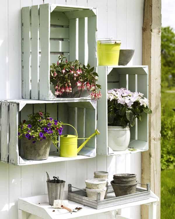 Παλιά Τελάρα για να διακοσμήσετε τον κήπο σας2
